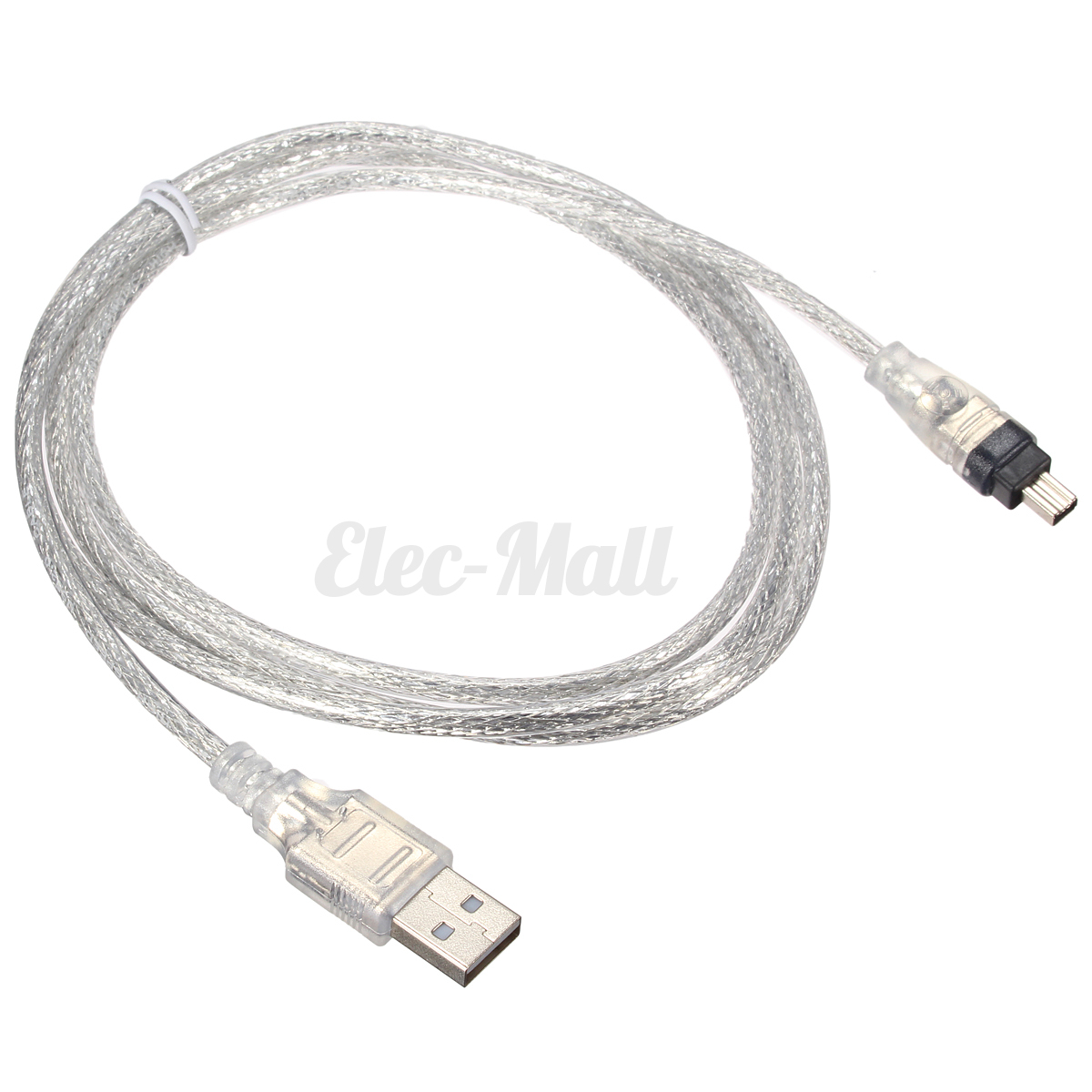 5FT USB 2.0 Male to 4 Pin IEEE 1394 Cable FireWire Adapter