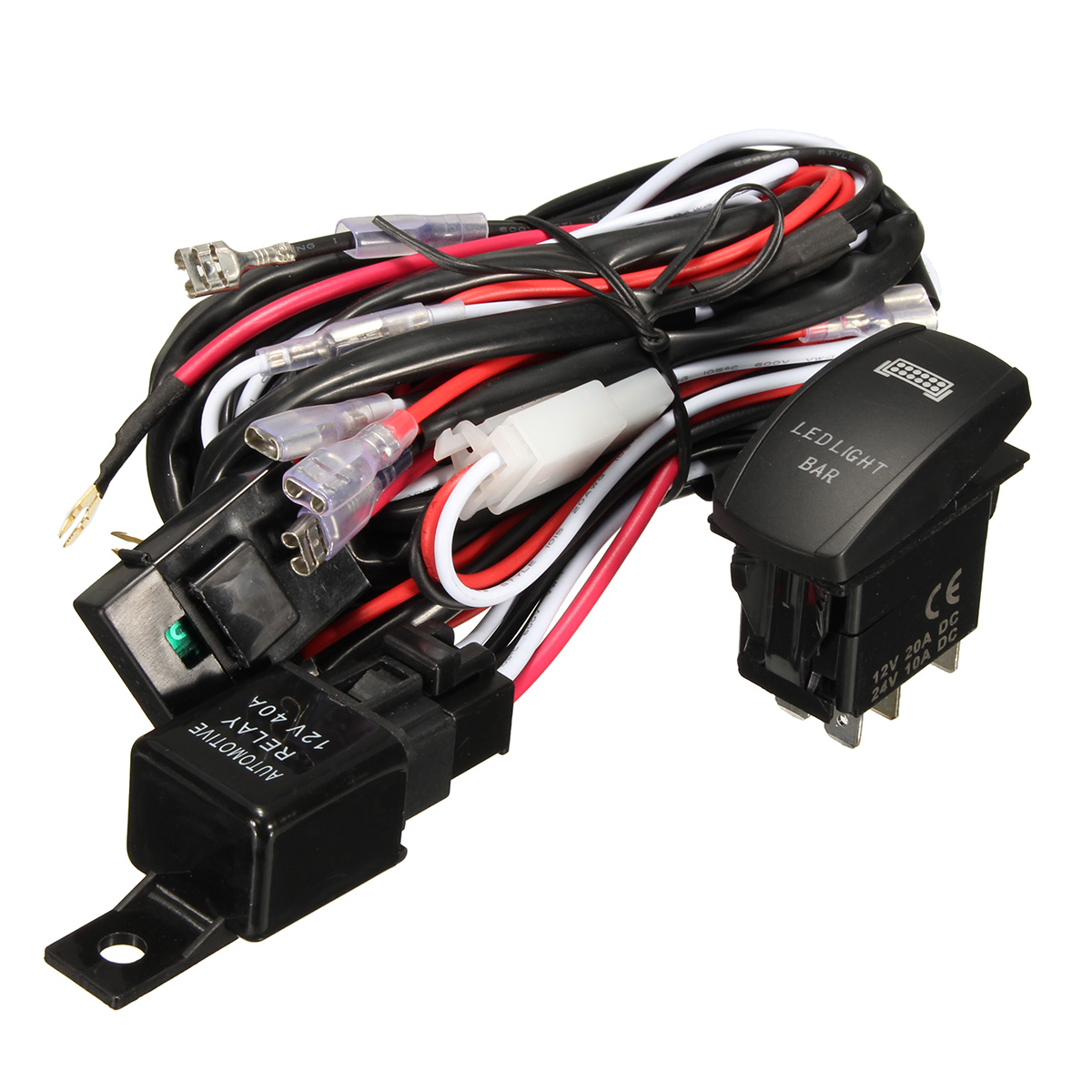 hight resolution of 12v wiring harness green led light bar laser