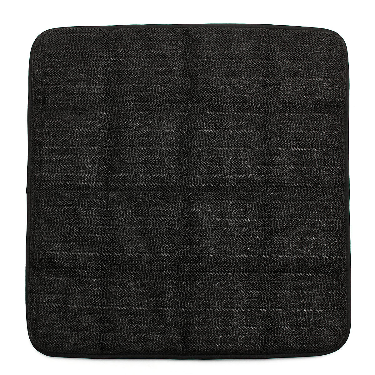 office chair seat covers black solid gold wheelchair bamboo charcoal breathable cushion cover pad mat for