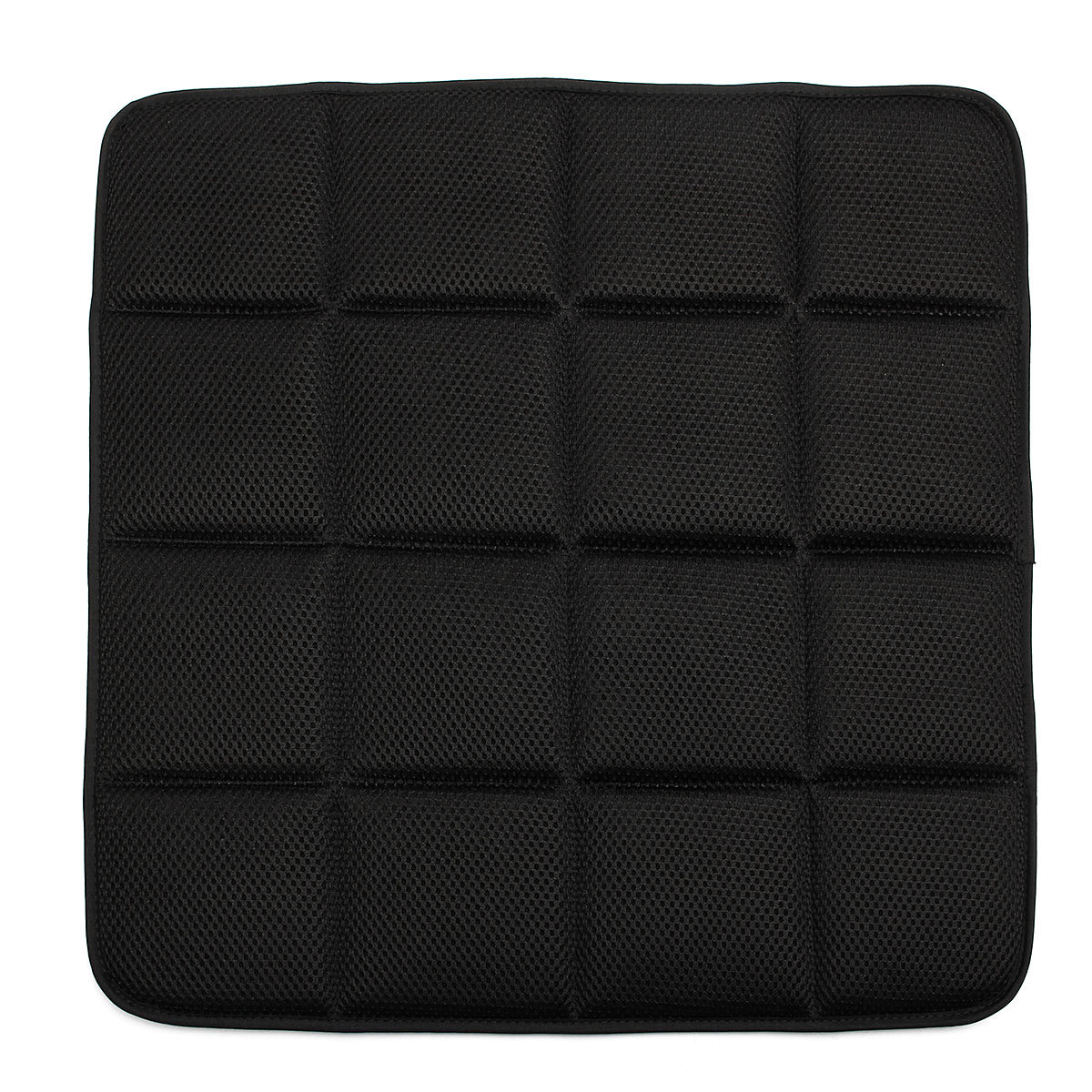 office chair seat covers black metal stacking chairs outdoor bamboo charcoal breathable cushion cover pad mat for