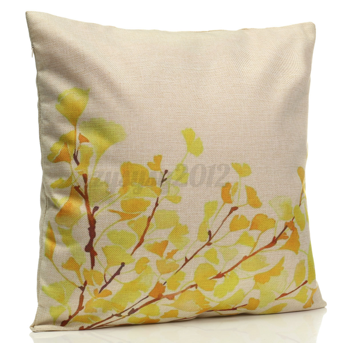 how to clean linen cotton sofa diy outdoor leaf throw pillow case cover bed pack
