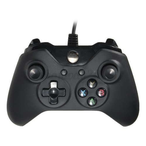 small resolution of  xbox one controller usb microsoft black wired usb controller video games handle