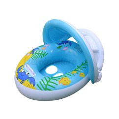 Baby Blow Up Ring Chair Toys R Us Chairs Inflatable Float Seat Boat Adjustable Sunshade