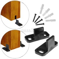 8 Types Wall Mount Floor Bottom Guide Sliding Barn Door ...