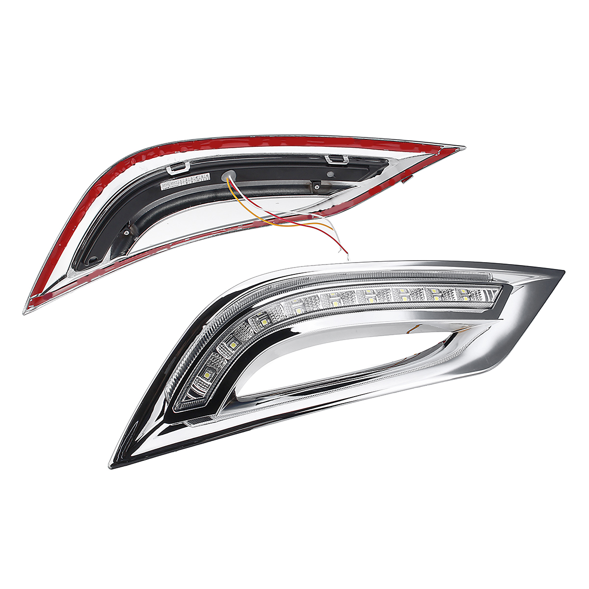 Led Drl Daytime Running Lights Turn Signal Fog Lamp For