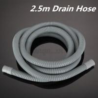 2.5M Universal Washing Machine Dishwasher Drain Hose Pipe ...