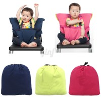 Portable Baby Infant Kids Feeding High Chair Harness Seat ...