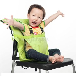 Baby Portable High Chair Safety Harness Ab Lounge Infant Kids Seat