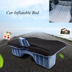 Air Mattress Chair Recliner Accent Car Travel Inflatable Bed Flocking