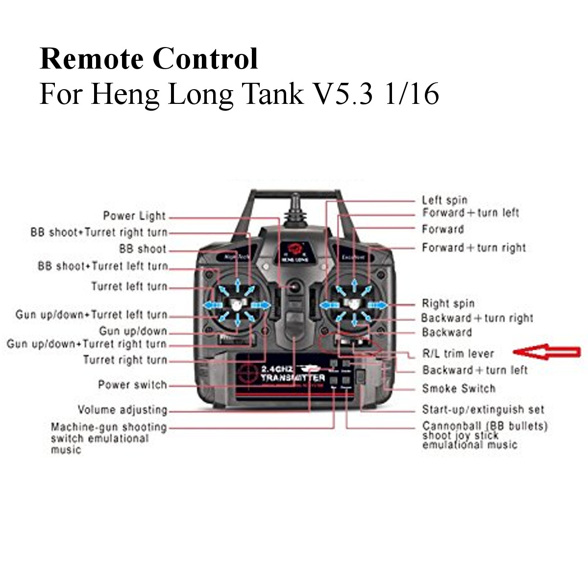 hight resolution of wrg 4423 heng s wiring diagram 2017 2 4g remote control receiver for heng long