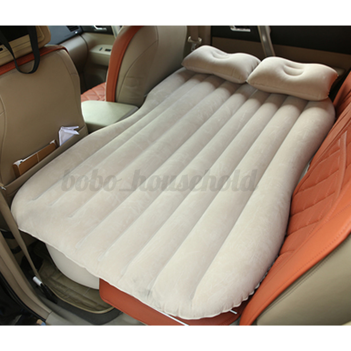chair pillows for bed white bistro car air inflatable mattress back seat cushion two