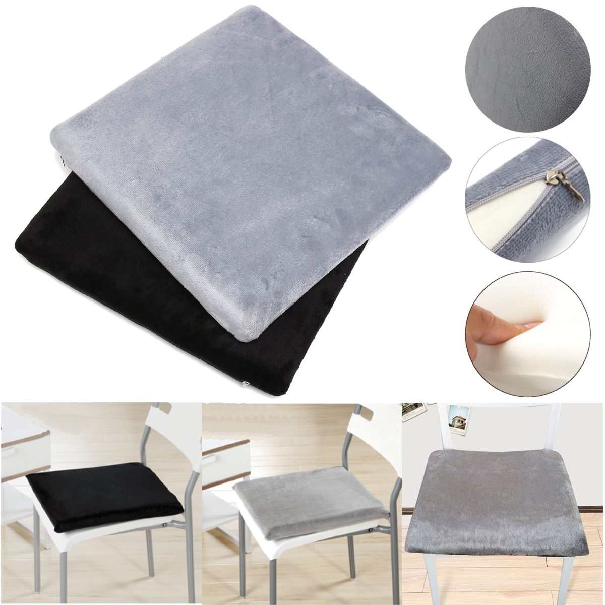 back pain office chair cushion anti gravity lawn memory foam home car seat