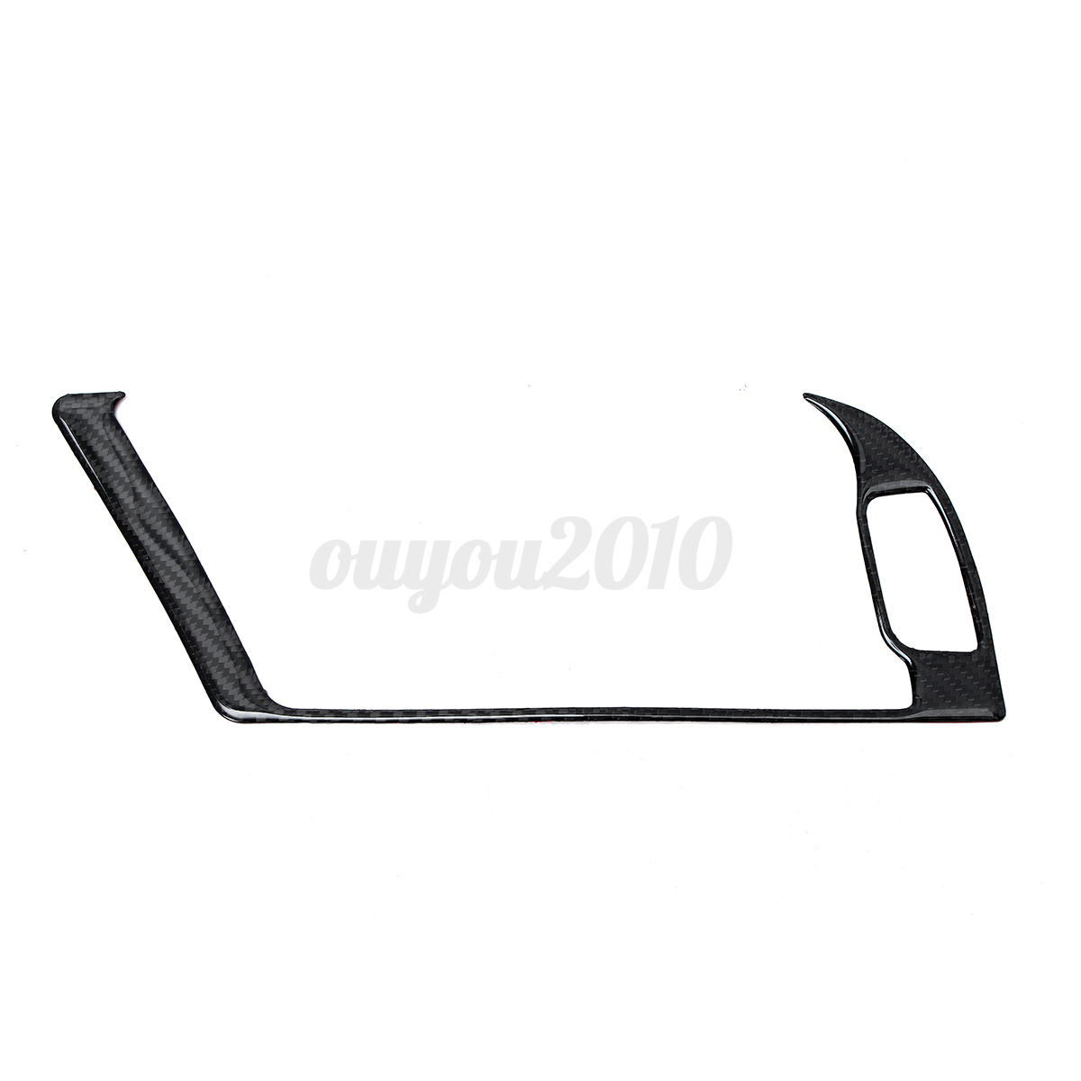 Carbon Fiber Console Warning Light Decal Cover Trim For