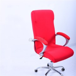 Office Chair Covers Ebay Accent Recliner Chairs Spandex Elastic Computer Swivel Cover