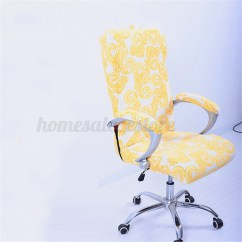 Chair Covers Set Of 6 Corner Accent 7 Color Elastic Office Swivel Cover Slipcover