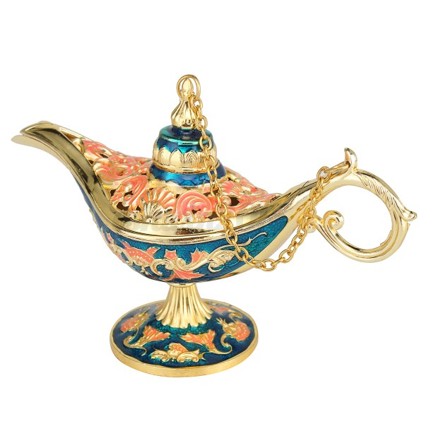 Legend Aladdin Magic Genie Light Lamp Wishing Oil