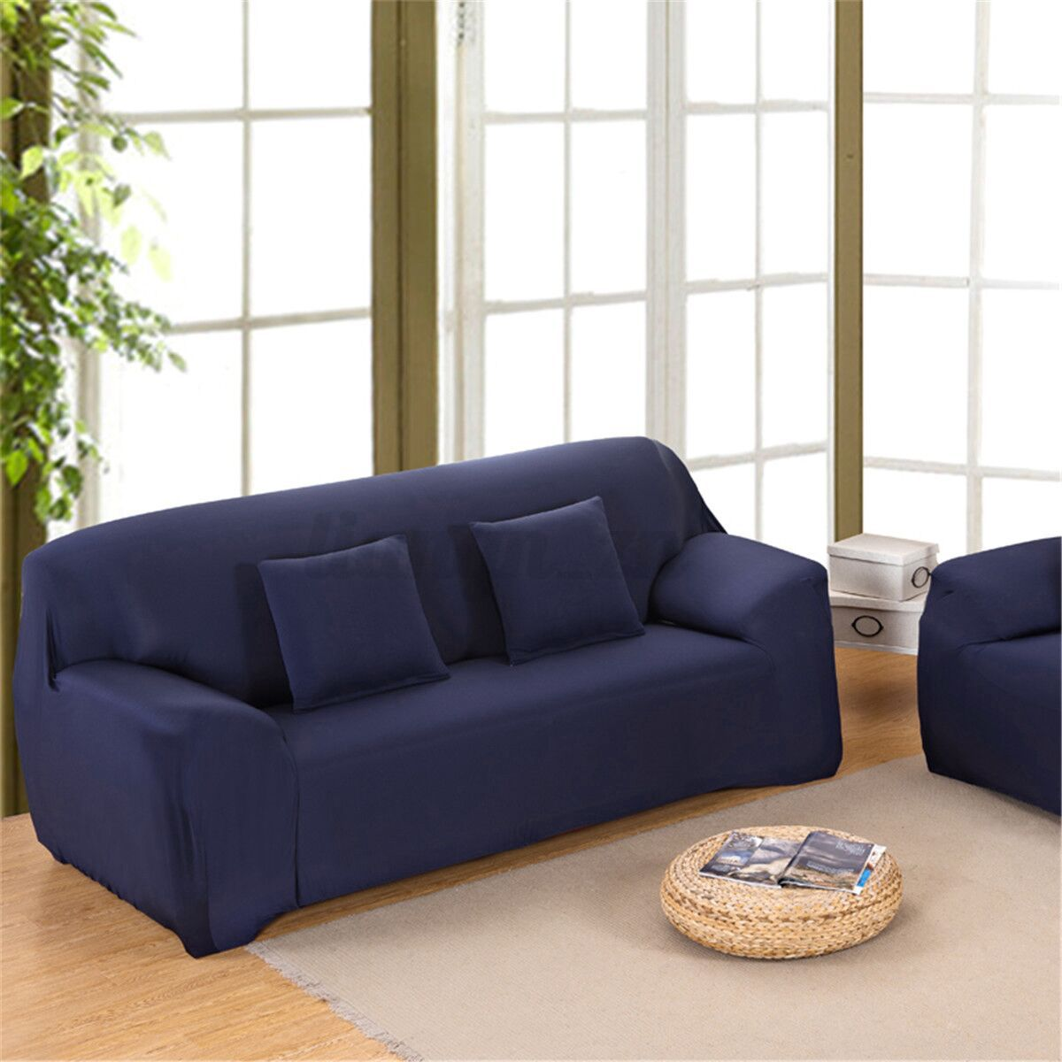 2 seater l shaped sofa bed chloe 1 3 4 shape stretch chair loveseat couch
