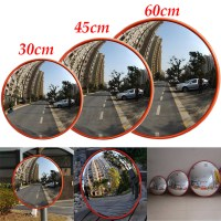 30/45/60cm Wide Angle Security Curved Convex Road Mirror ...