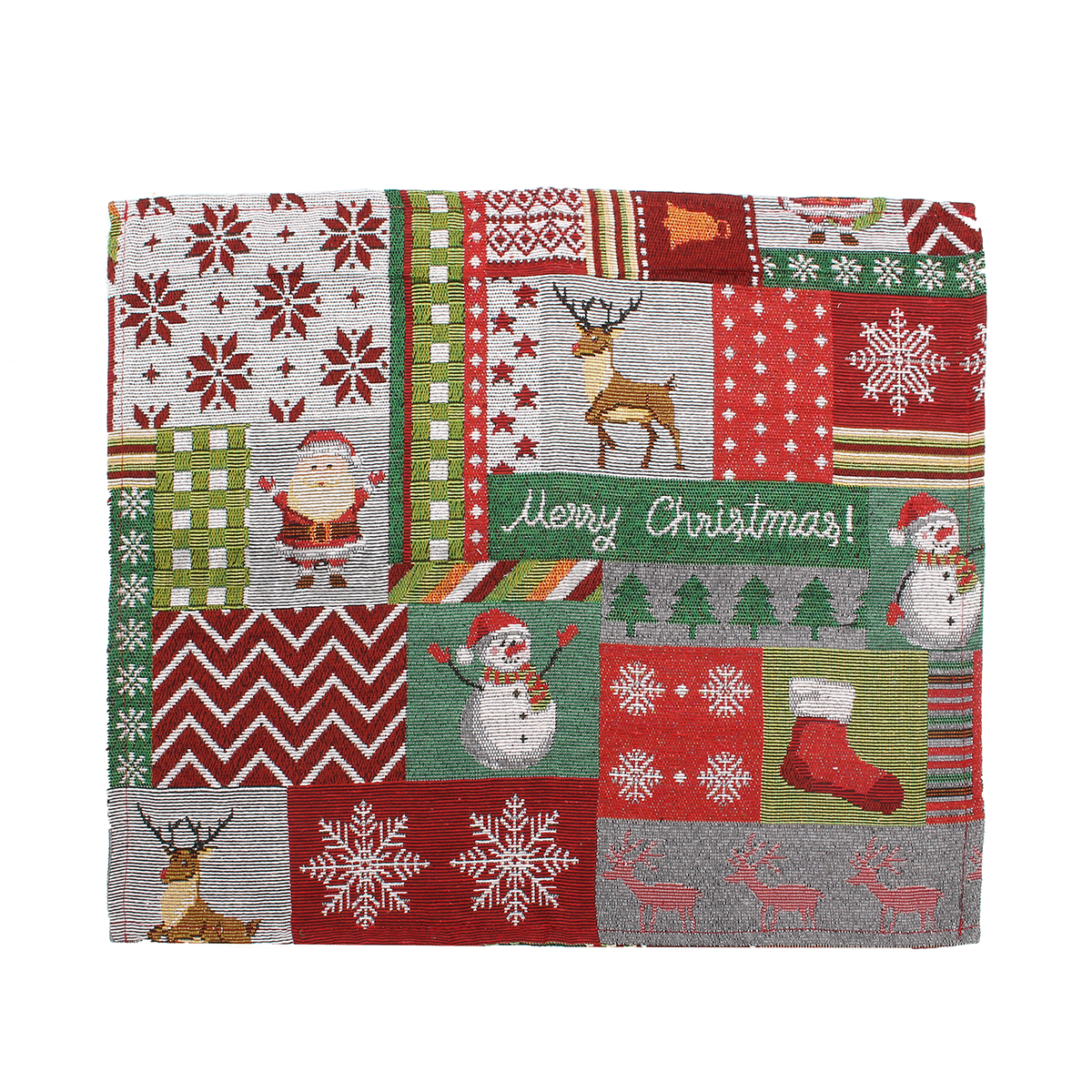 christmas chair covers ebay yoga posture the table runner placemat xmas party home desk decor