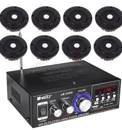220v home cafe restaurant car audio stereo amplifier  [ 1200 x 1200 Pixel ]