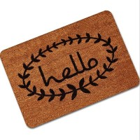 Letter Funny Welcome Home Entrance Floor Rug Non