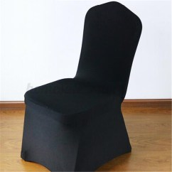Universal Wedding Chair Covers Folding Cap 10 50 100pcs Polyester Spandex Cover