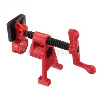 1/2'' 3/4'' Heavy Duty Pipe Clamp Woodworking Gluing Pipe ...