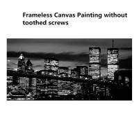 Modern Manhattan New York City Canvas Print Painting ...