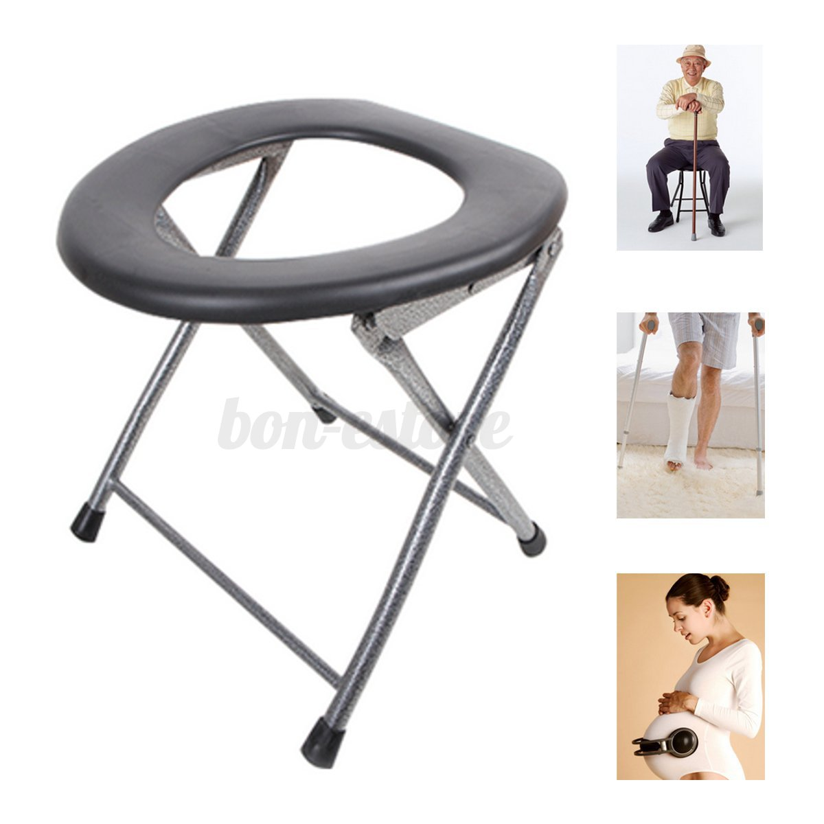 folding chair nepal wedding covers average cost portable toilet travel camping festival park