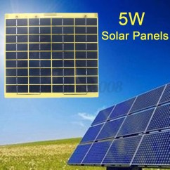 Rv Solar Sony Stereo Wire Harness Diagram New 5w 10w 20w 30w Panel Solarpanel Cable And Clips