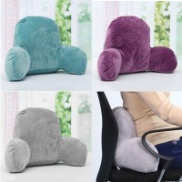 Lounger Bed Rest Pillow Backrest Back Arm Support Relax ...