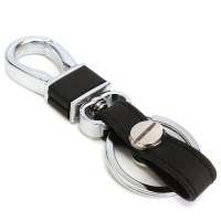 Thread Leather Car Remote Key Chain Holder Case Cover for