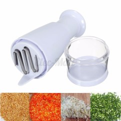 Kitchen Dicer Slicer Thermometer New Pressing Peeler Vegetable Garlic Onion