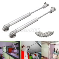 2x Gas Strut Lid Stay Support Kitchen Cabinet Door Toy Box ...