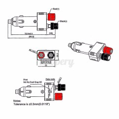 12v Cigarette Plug Wiring Diagram Skull Mandible 10a Auto Charger Car Van Lighter Socket