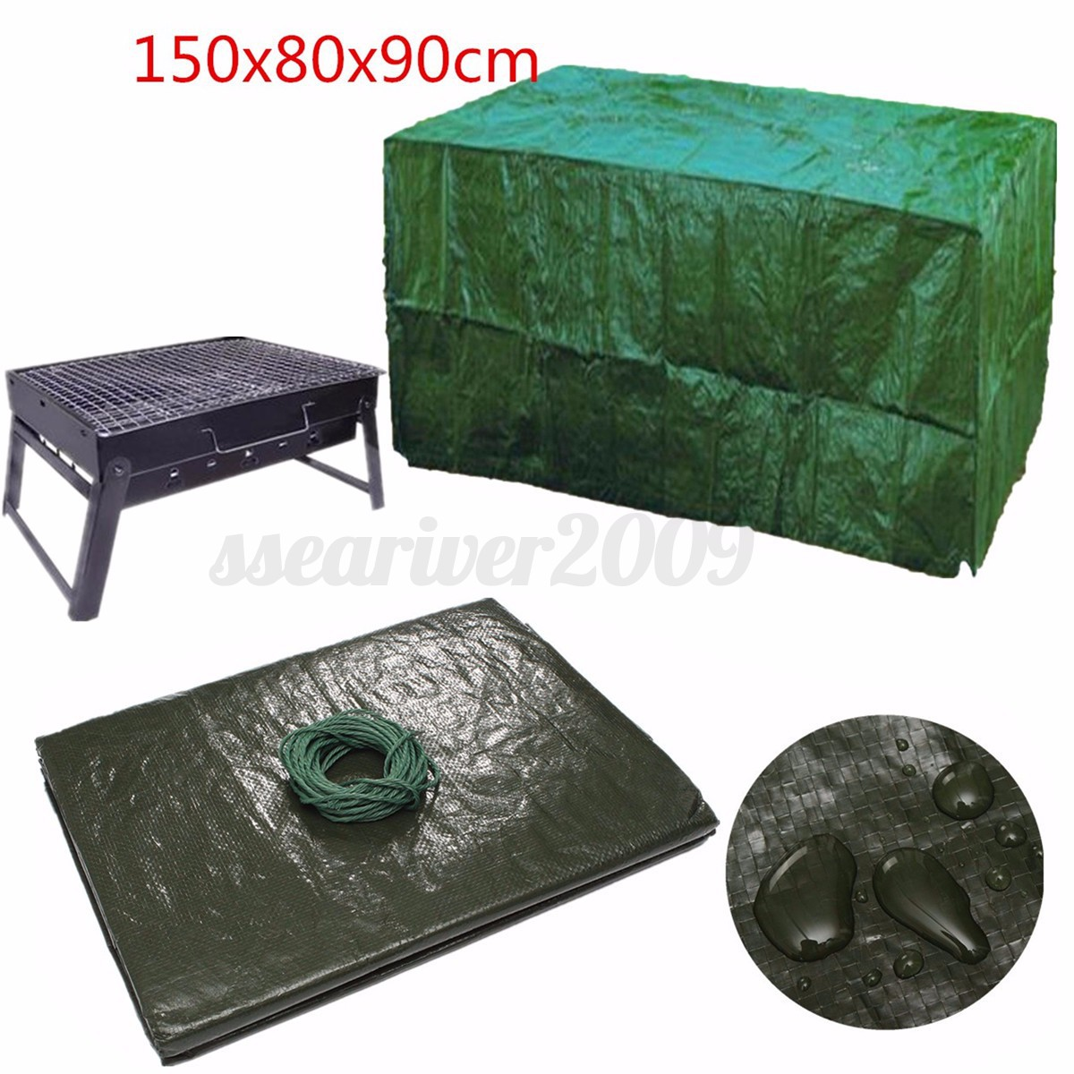 table and chair covers ebay costco beach chairs backpack waterproof furniture cover for garden outdoor patio bench