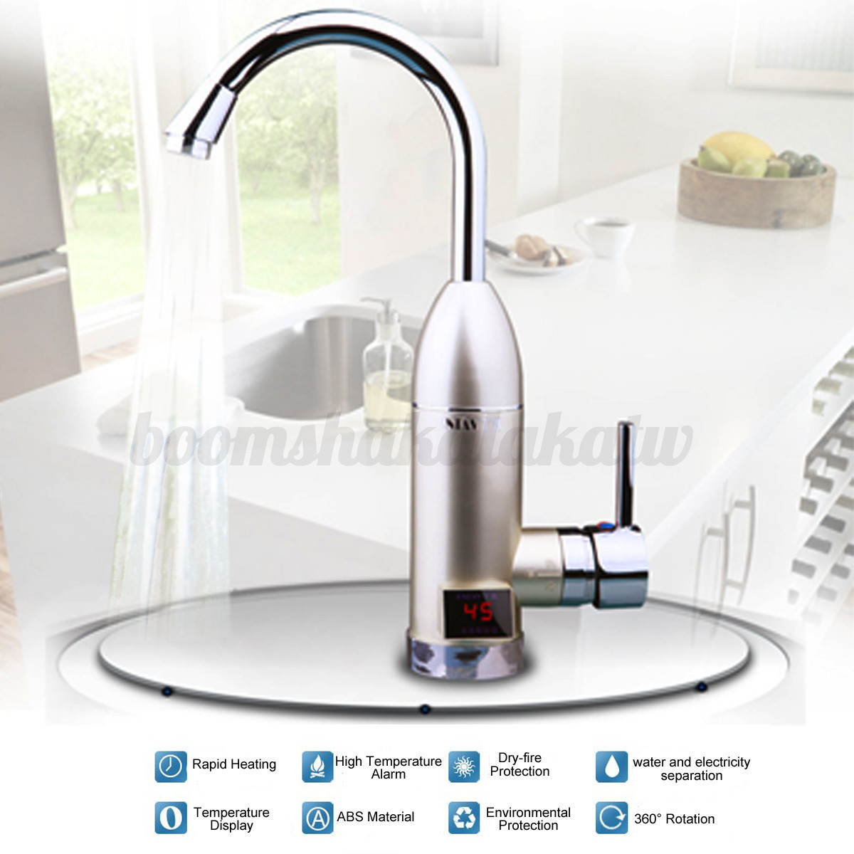 instant water heater kitchen sink renovating a electric tankless faucet tap hot