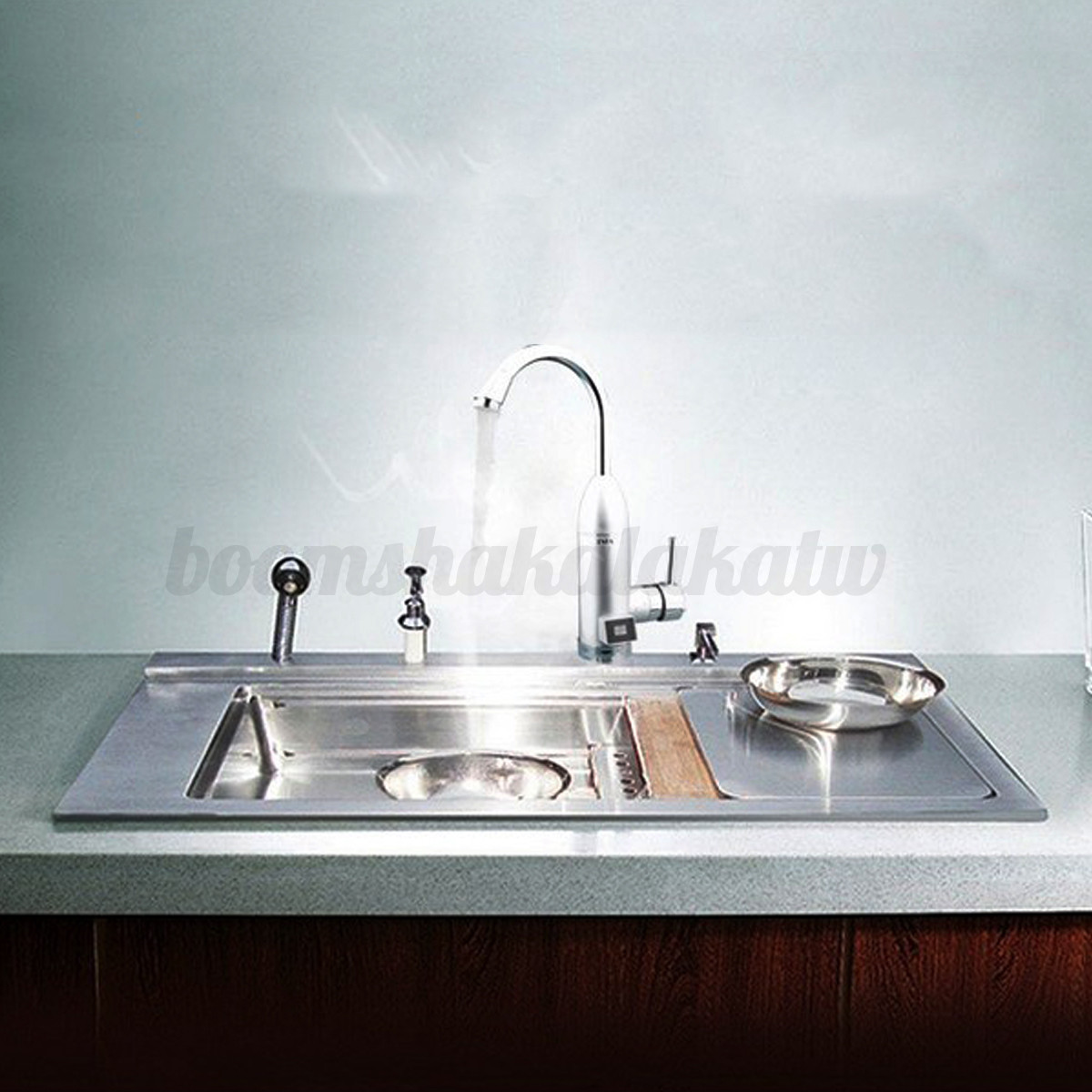 instant water heater kitchen sink ge artistry electric tankless faucet tap hot