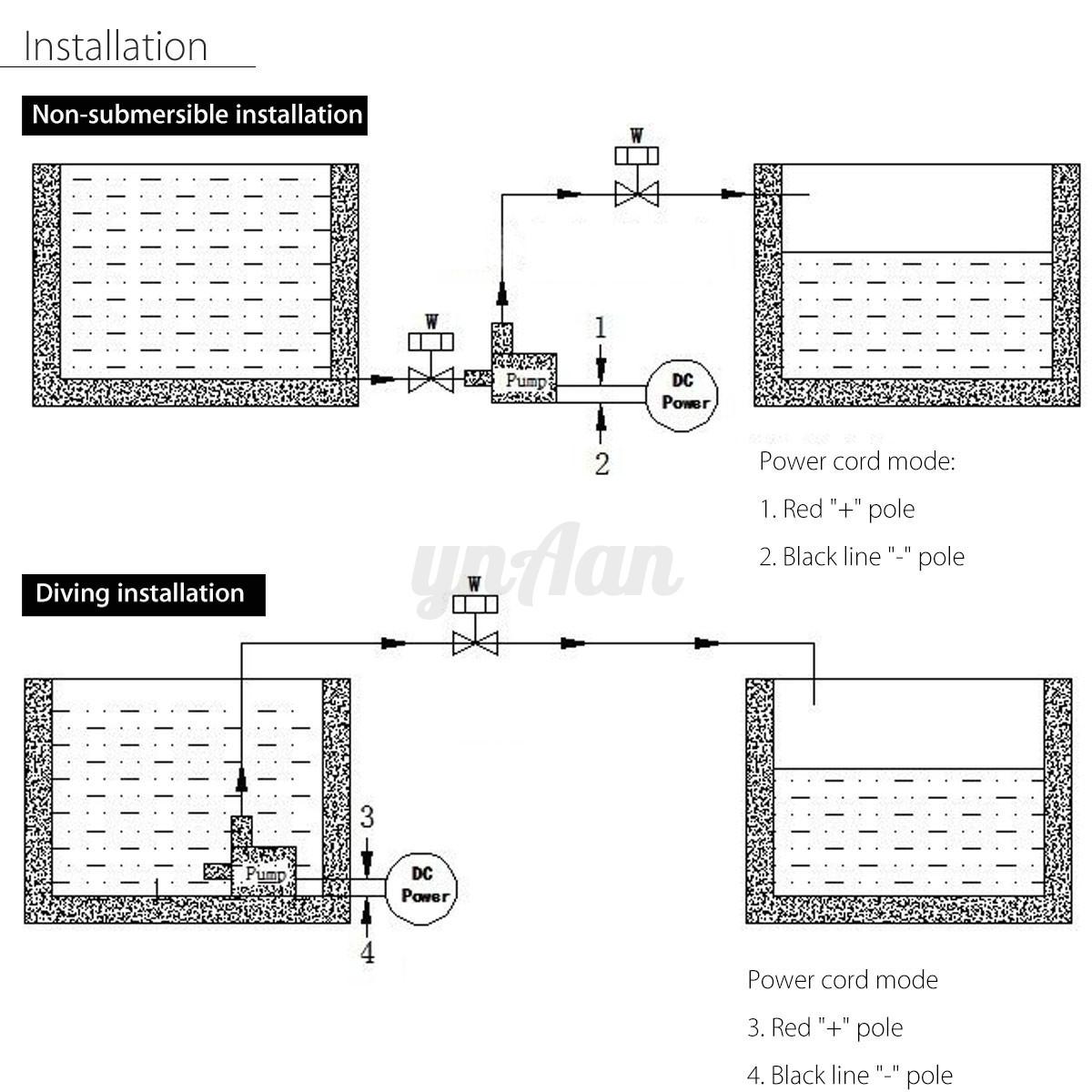 Dc 24v Hot Water Circulation Pump Solar Water Pump