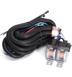 auto h4 headlight ceramic headlamp wiring harness relay 4 headlight wiring harness replacement 03 s10 headlight wiring harness 2003 busa ebay [ 1200 x 1200 Pixel ]