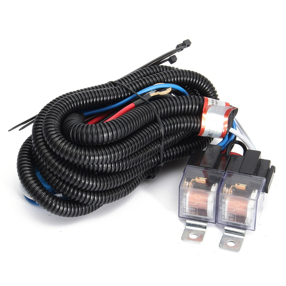 medium resolution of auto h4 headlight ceramic headlamp wiring harness relay 4 headlight wiring harness replacement 03 s10 headlight wiring harness 2003 busa ebay