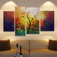 Modern Abstract Canvas Print Painting Picture Wall Mural