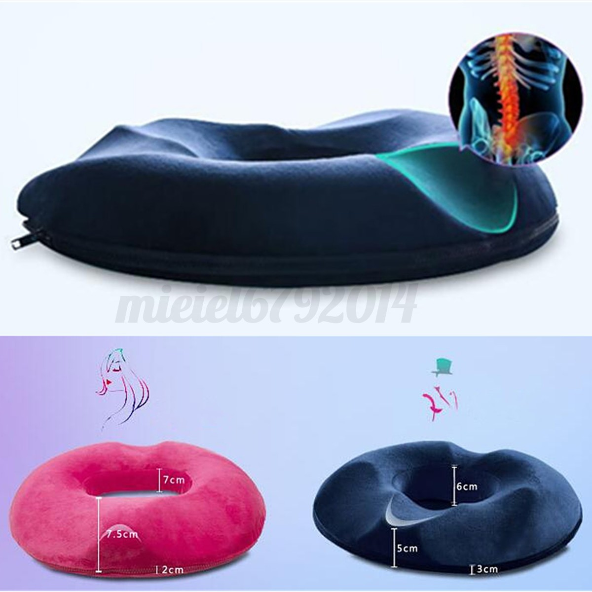 best office chair for hemorrhoids vinyl dining room covers memory foam seat cushion hemorrhoid treatment ring donut