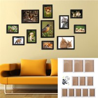 11Pcs Wall Hanging Photo Frame Set Family Picture Display ...
