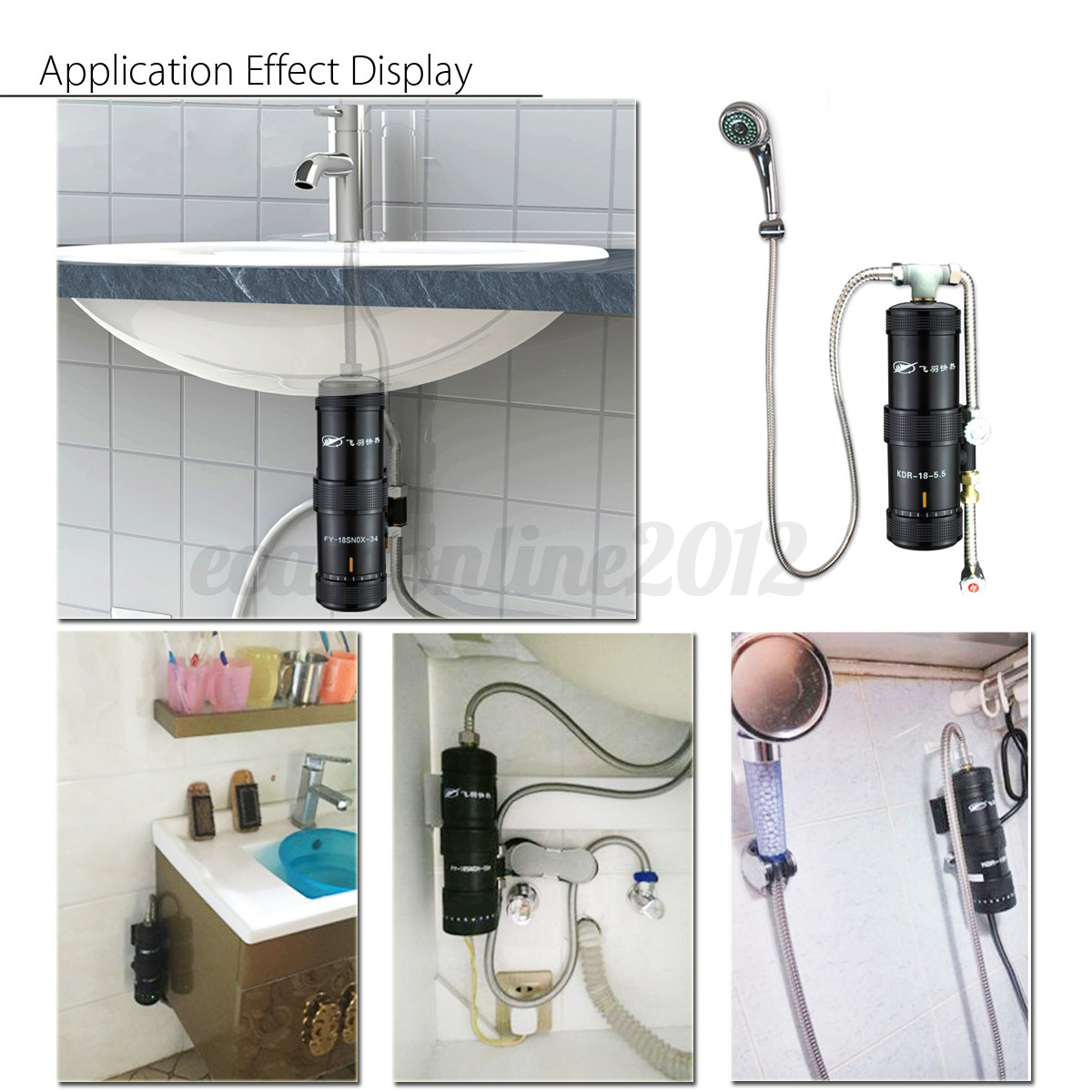 instant water heater kitchen sink traveling 5500w bathroom electric tankless