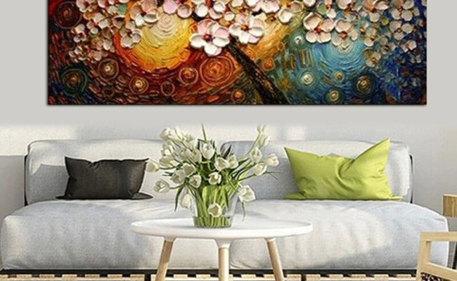 Huge Modern Abstract Canvas Print Painting Picture Wall