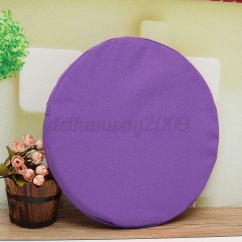 Round Futon Chair Cushion Orange Kitchen Cushions 3d Seat Pads Bed Sofa Throw Pillow Soft Plush