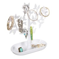Tree Jewelry Necklace Earrings Rings Stand Holder Show ...