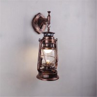 Retro Wall Lighting Sconce Vintage Exterior Lantern