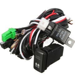 led driving light wiring loom harness relay 40a switch illuminator led driving light wiring harness trailer [ 1200 x 1200 Pixel ]